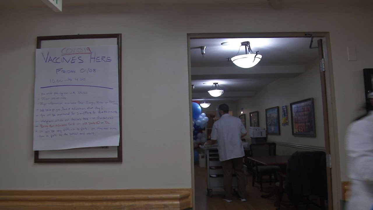 Seattle senior center hit by COVID-19 gets vaccine