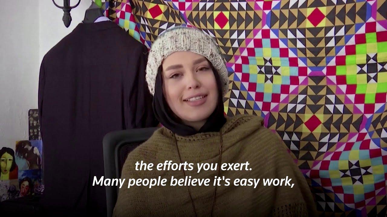 Jordanian artist transforms into celebs using makeup