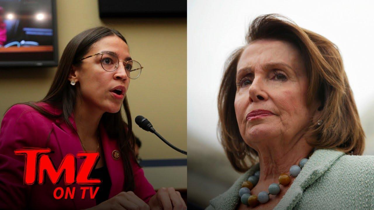 Nancy Pelosi Shades AOC! | TMZ TV