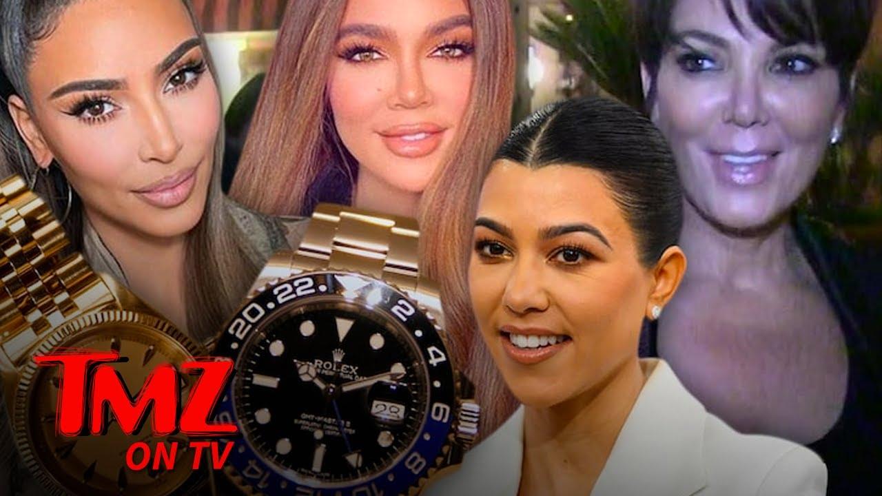 Kardashians Give 'KUWTK' Crew Rolex Watches After Final Episode | TMZ TV