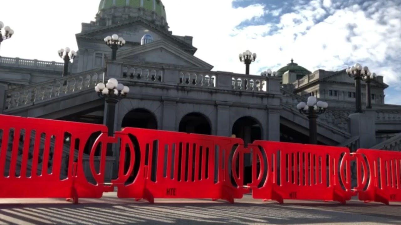 State Capitols step up security amid threats