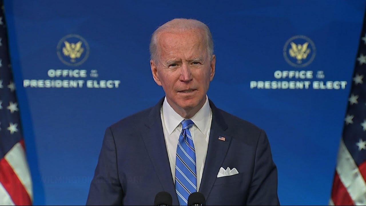 Biden: Current vaccine rollout 'a dismal failure'