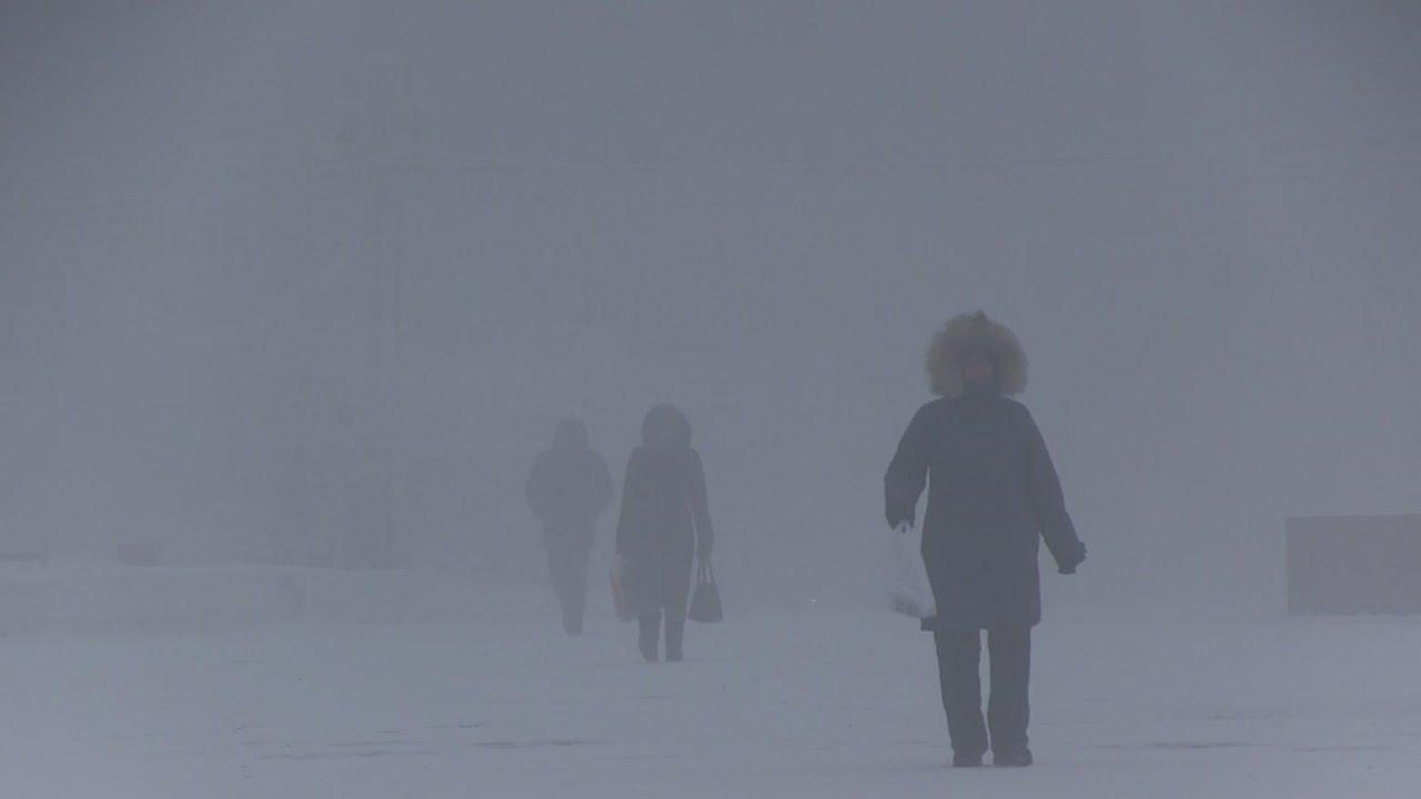 Abnormally long cold spell in Siberian region