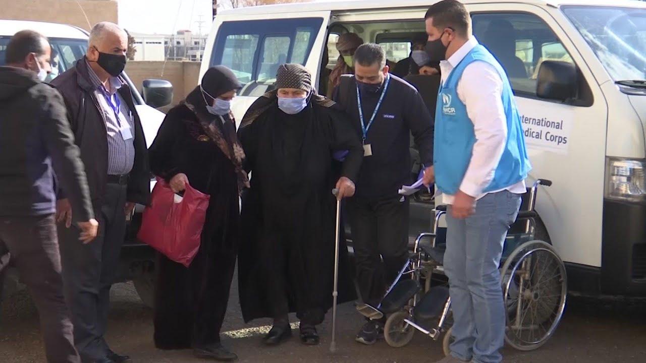 Jordan begins vaccinating Syrian refugees
