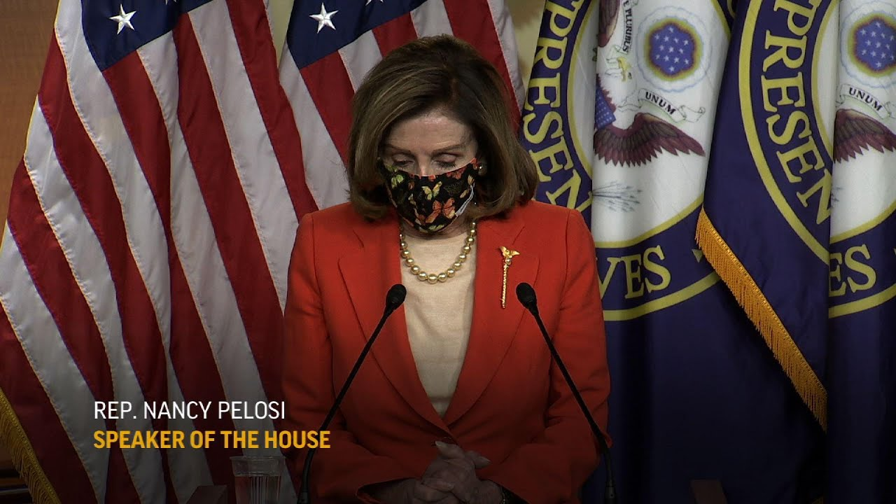 Pelosi: 'We've really lost our innocence'