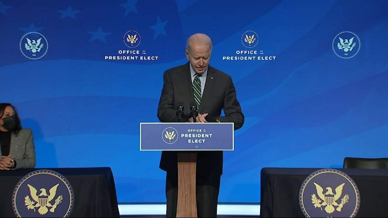 Biden: Advisers to lead with 'science and truth'
