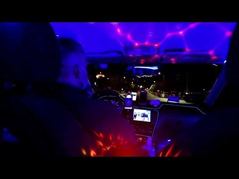 Nightclub taxi drives away lockdown blues in Greece