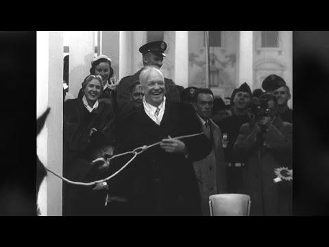Which was the weirdest inauguration? Dwight Eisenhower lassoed in 1953