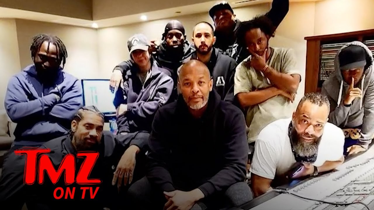 Dr. Dre Back in the Studio After Brain Aneurysm | TMZ TV
