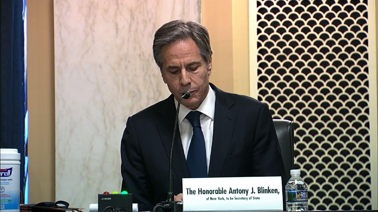 Blinken sees Congress as 'partner' on foreign policy