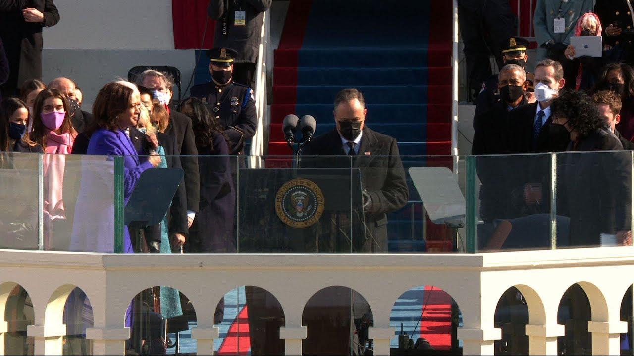 Harris sworn in as 1st Black, South Asian woman VP