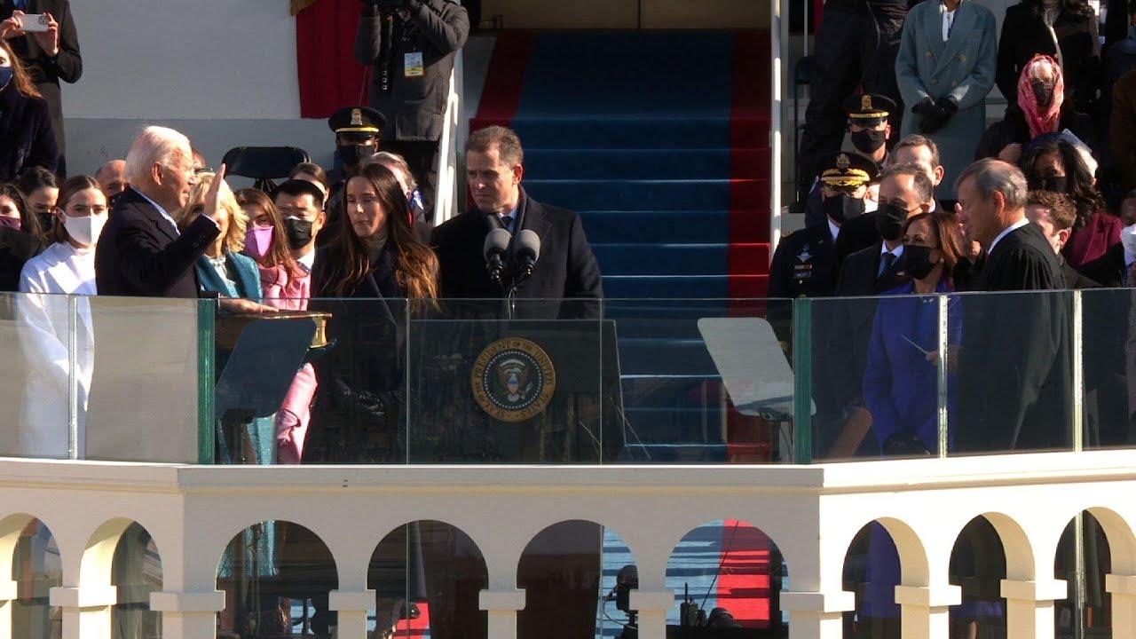 Biden takes oath, 'democracy has prevailed'