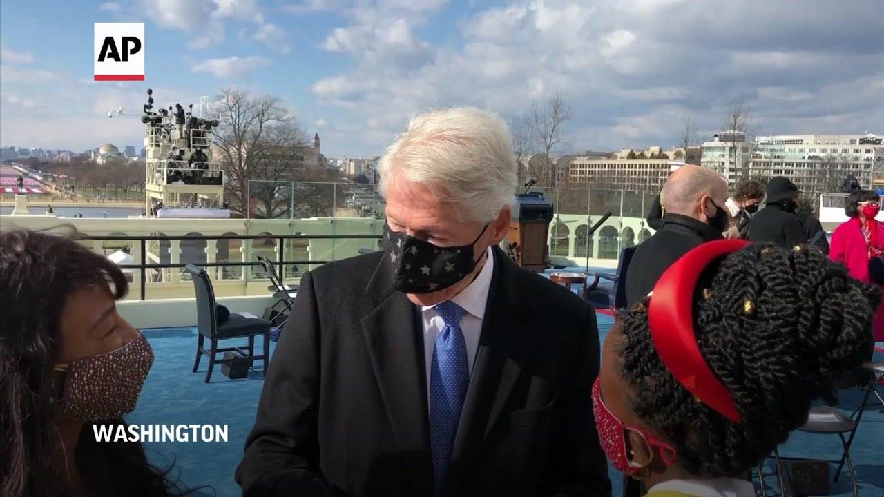 Fmr. Pres. Clinton impressed by tone set by Biden