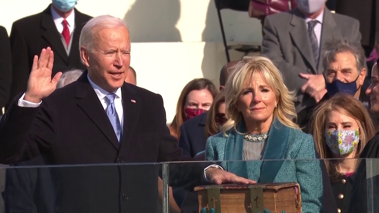 Joe Biden sworn in as 46th U.S. president