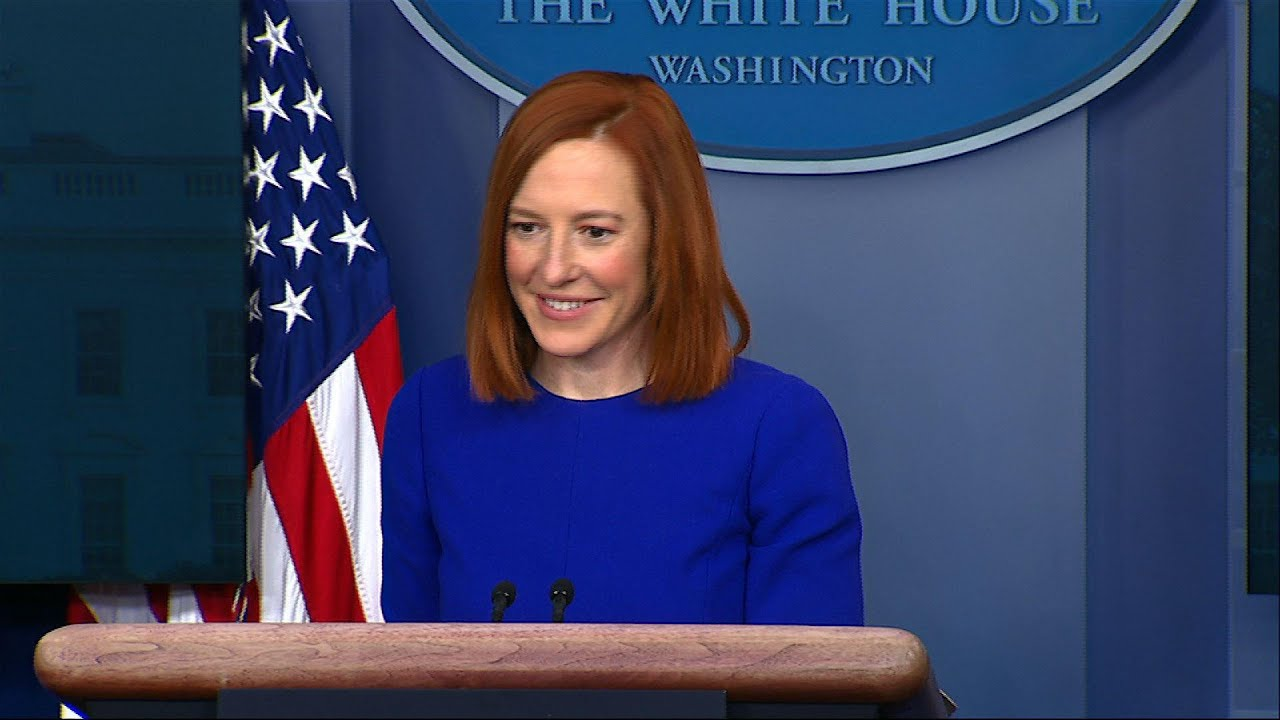 Psaki pledges transparency in first WH briefing