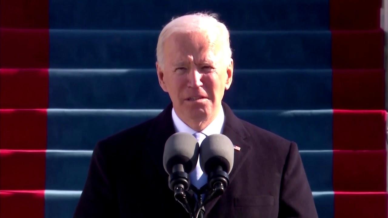 Biden inauguration speech: 'Democracy has prevailed'
