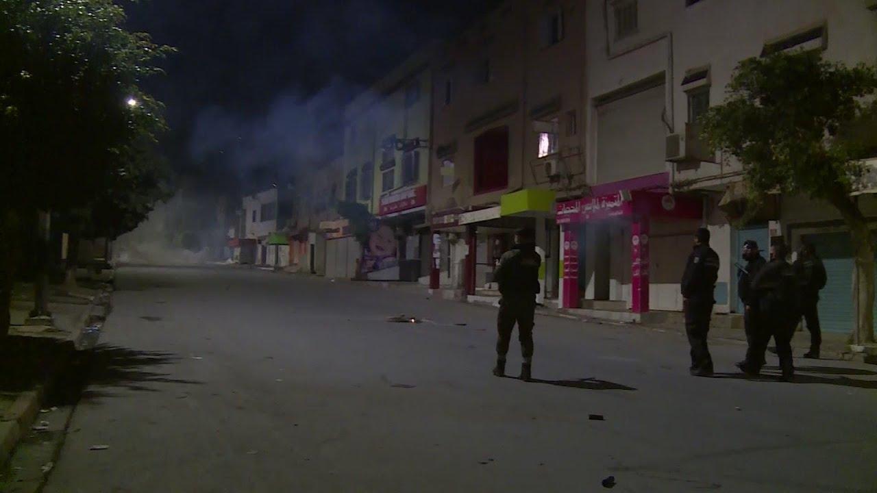 Tunisia police use tear gas against protesters