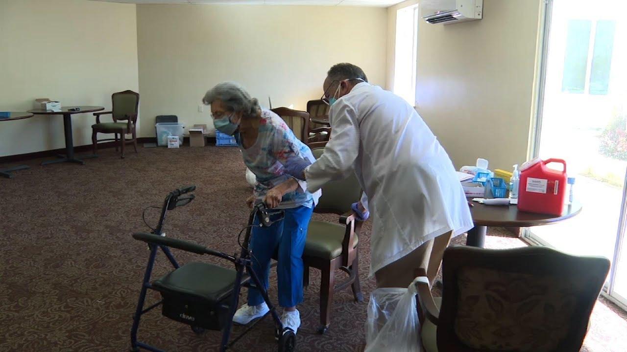 Vaccinations continue in Florida nursing homes