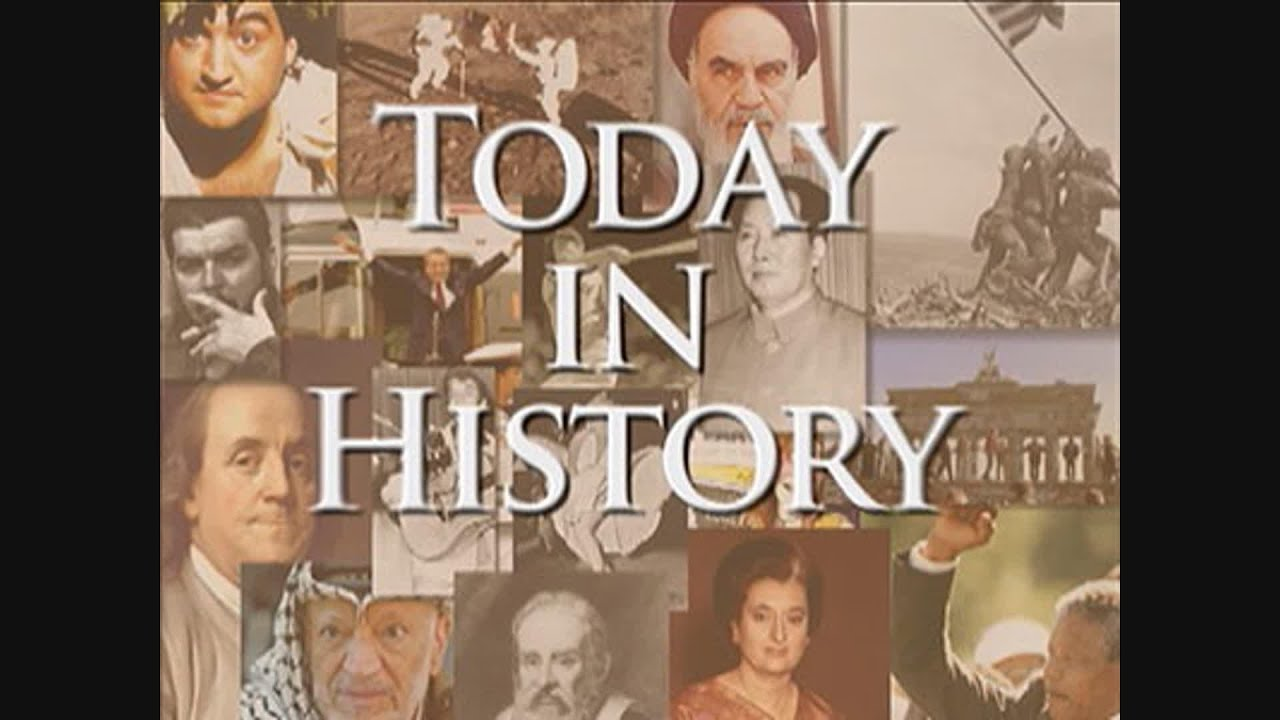 Today in History for January 25th