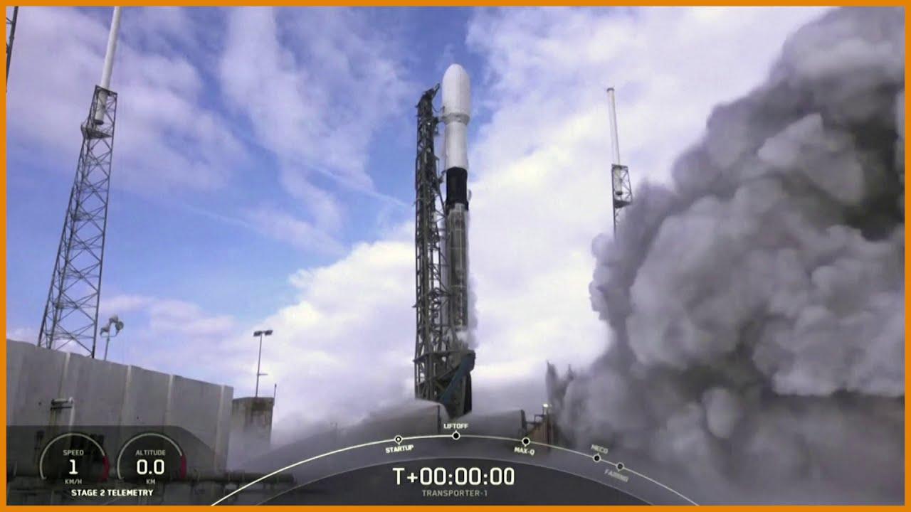 SpaceX Falcon 9 rocket deploys 143 spacecrafts