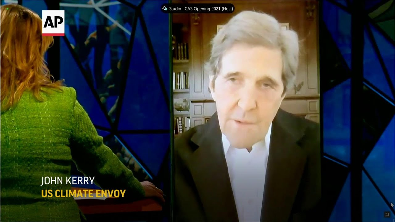 Kerry apologizes for US leaving Paris accord