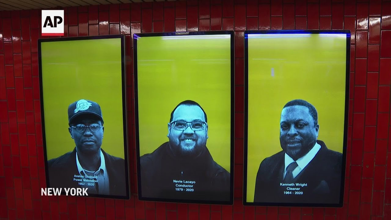 Subway video honors transit COVID-19 worker deaths
