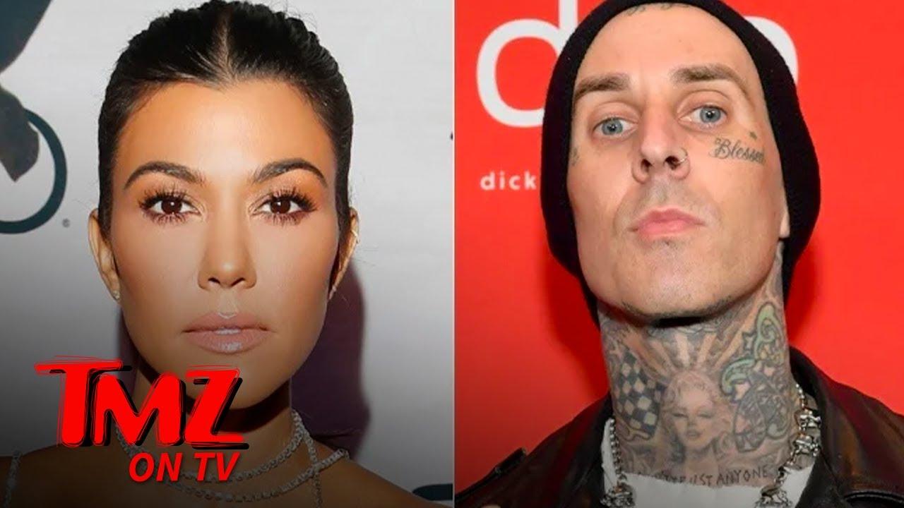 Kourtney Kardashian and Travis Barker Are Finally Dating! | TMZ TV