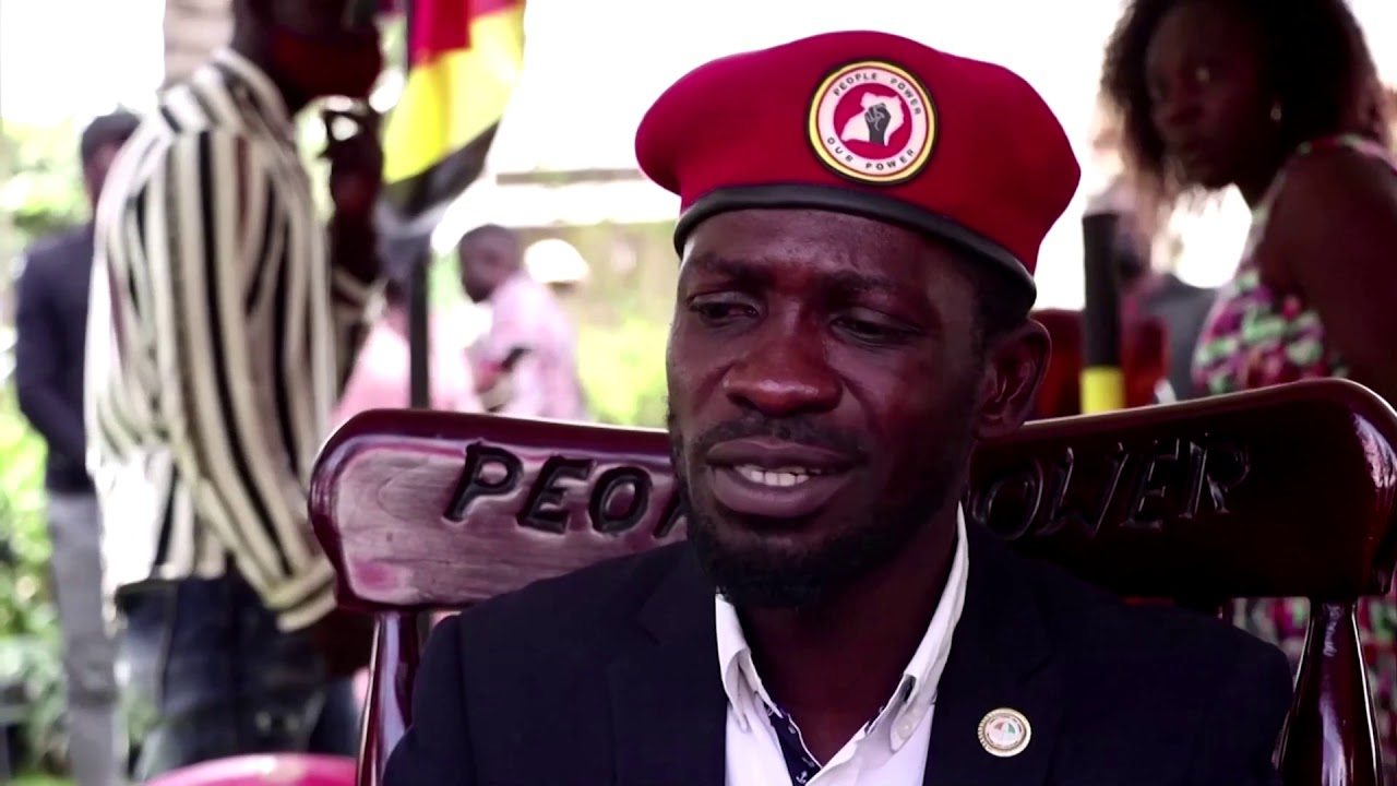Bobi Wine says security forces are 'trying to take away our freedom'