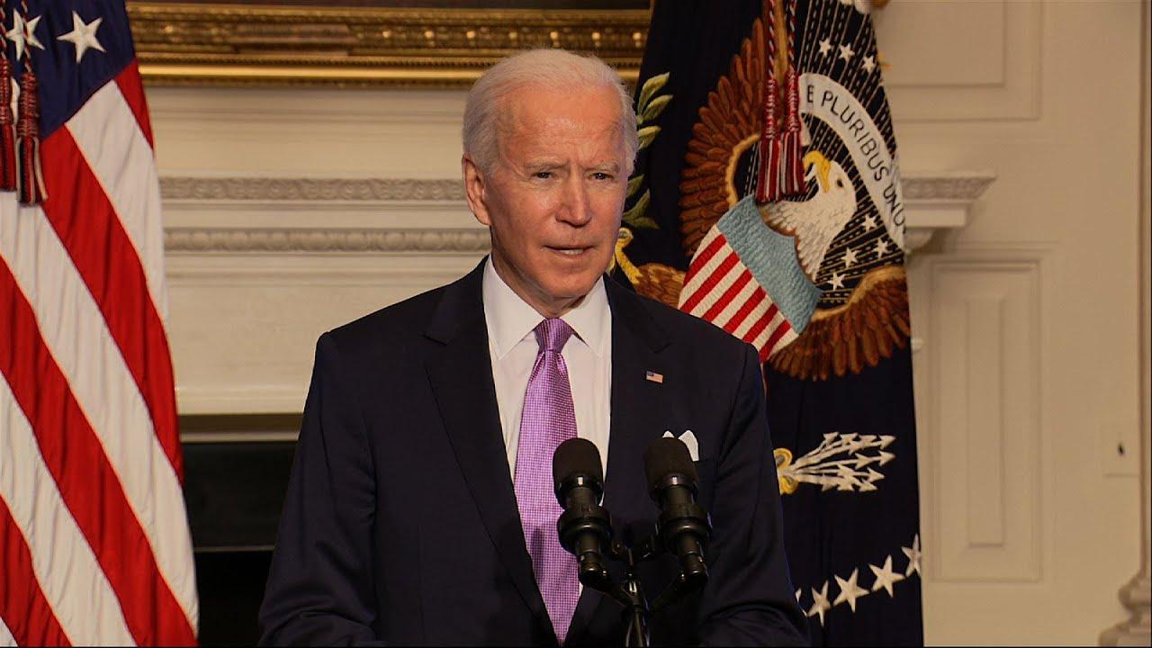Biden announces 'wartime' boost in vaccine supply
