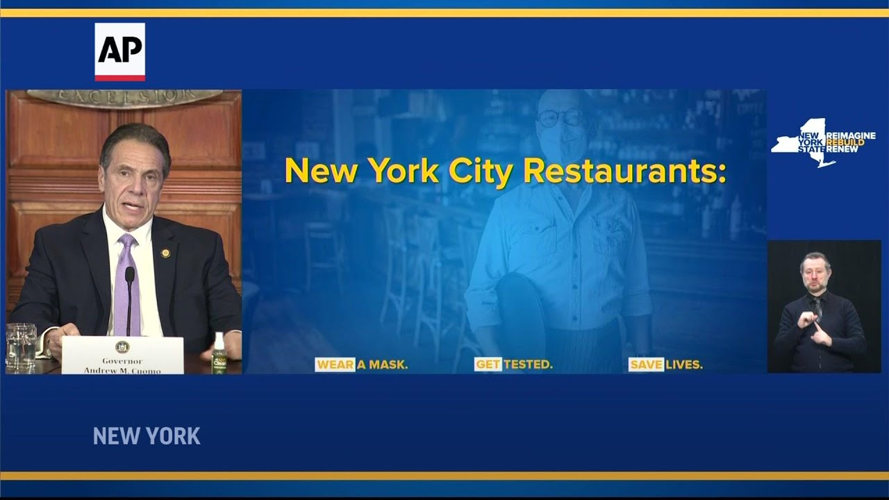 Cuomo: NYC indoor dining decision by end of week