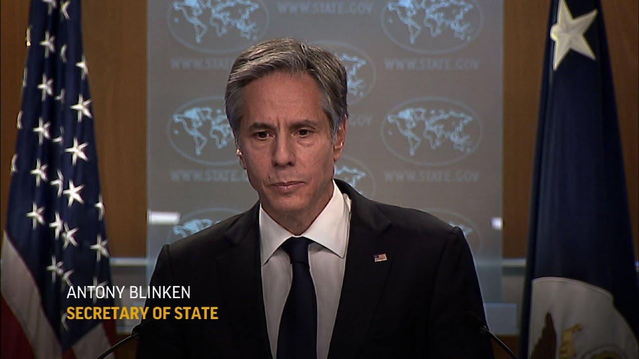Blinken on dealings with Iran, Middle East