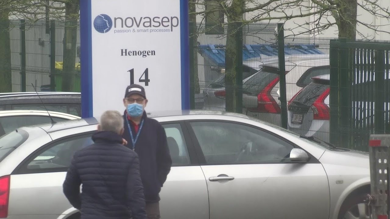 Belgium inspects vaccine factory's production