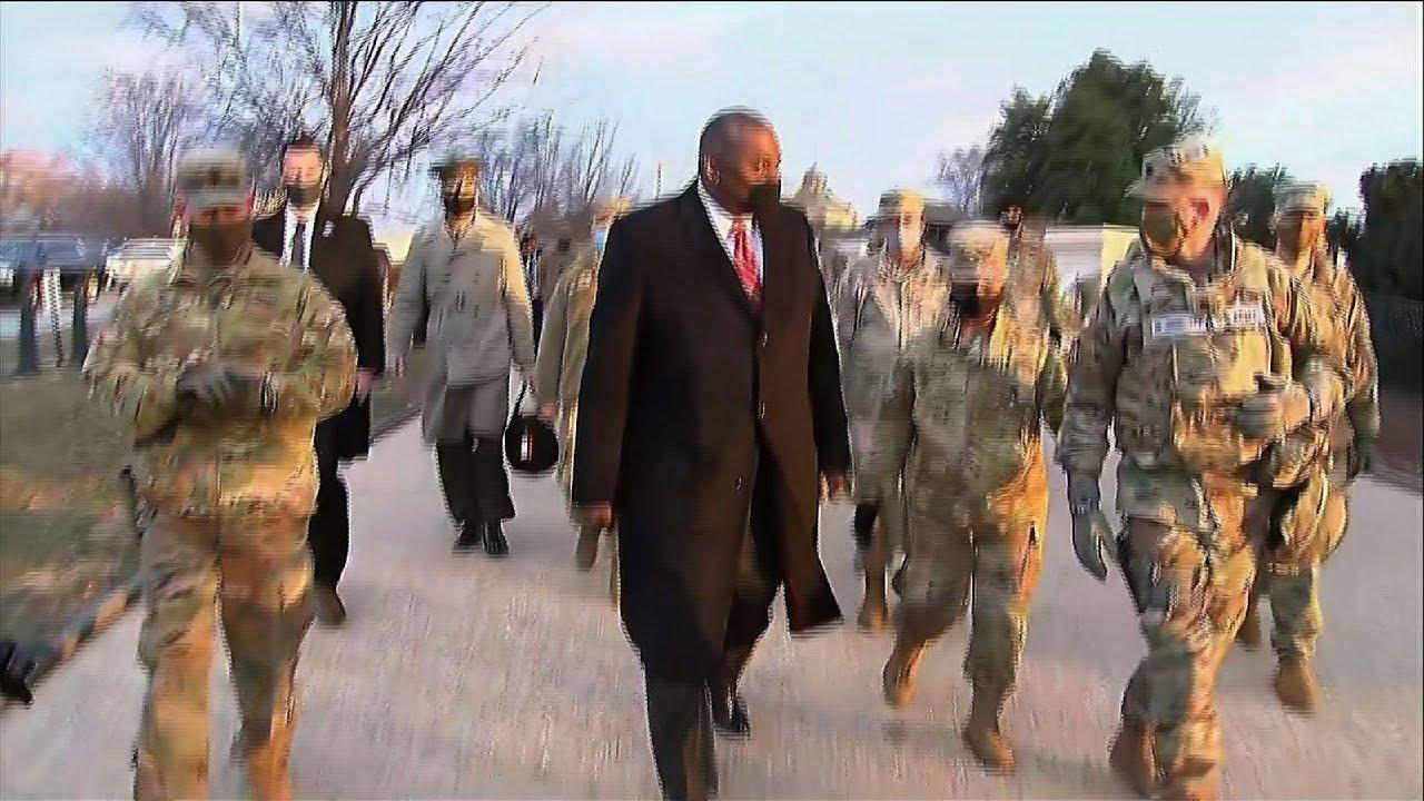 Austin to Nat'l Guard: Defense Dept. is behind you