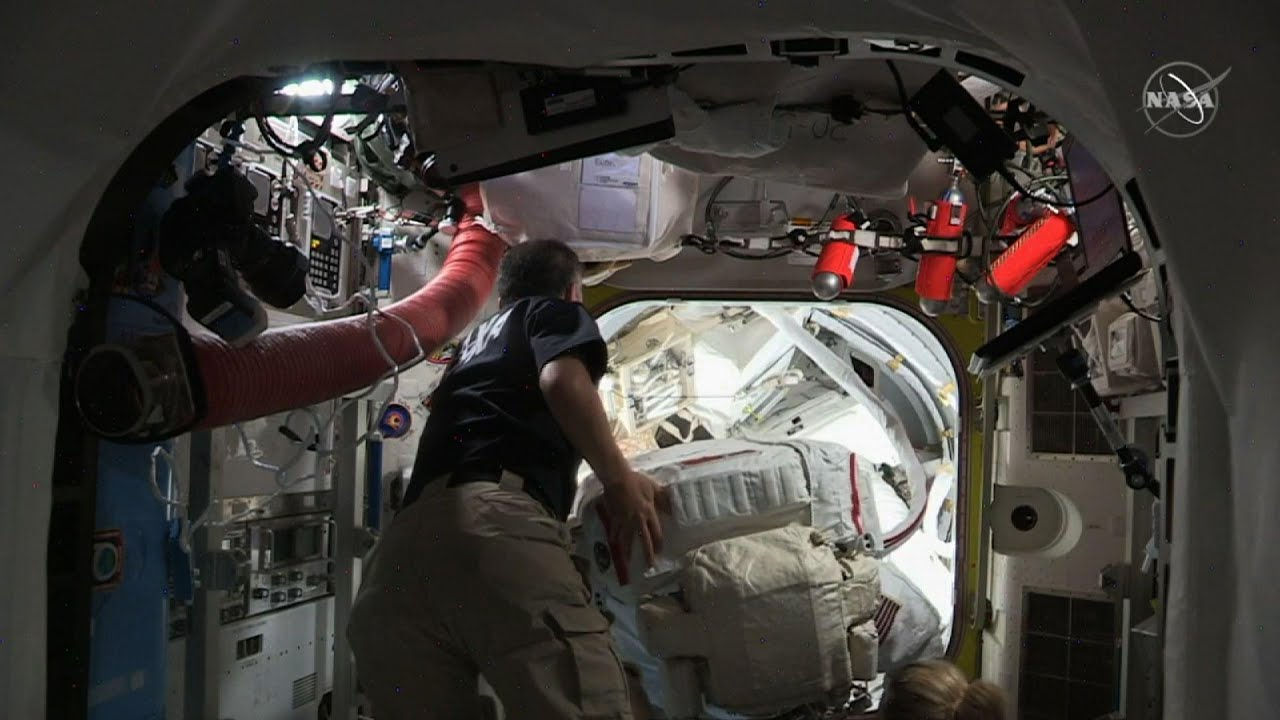 Astronauts to finish years of ISS power upgrades