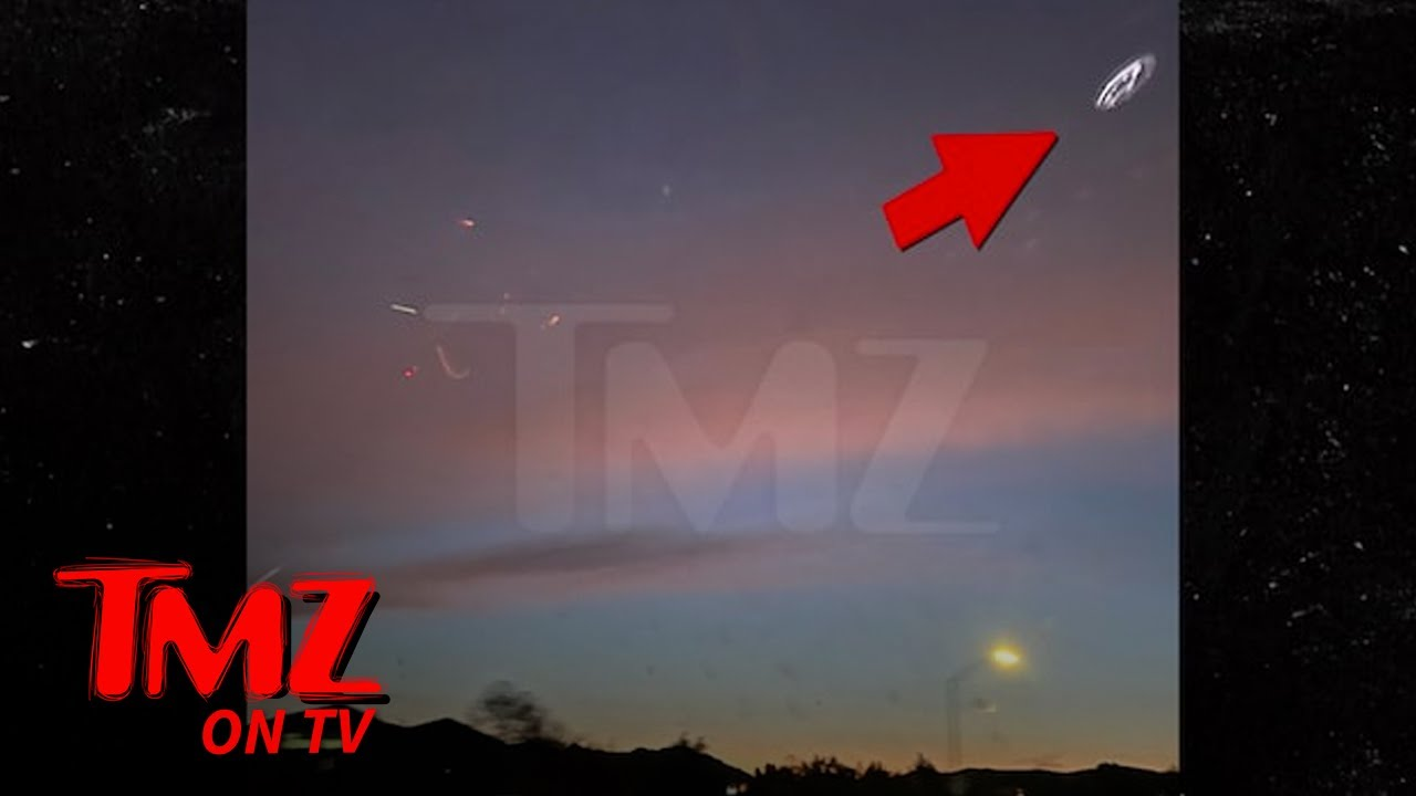 Clear Shots of 'UFO' Spotted Above Freeway on Outskirts of Los Angeles   TMZ TV