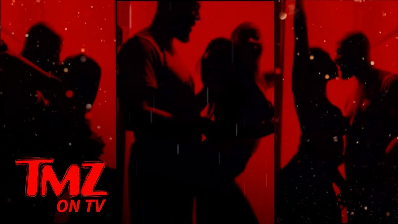 Tiffany Haddish Makes Out with Common in Steamy #SilhouetteChallenge | TMZ TV