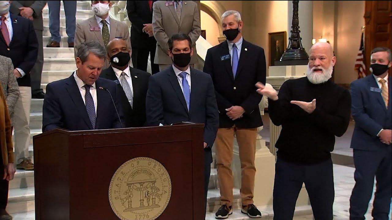 Georgia gov. commits to improving teacher pipeline