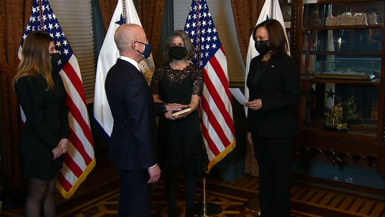 Mayorkas takes oath as homeland security chief