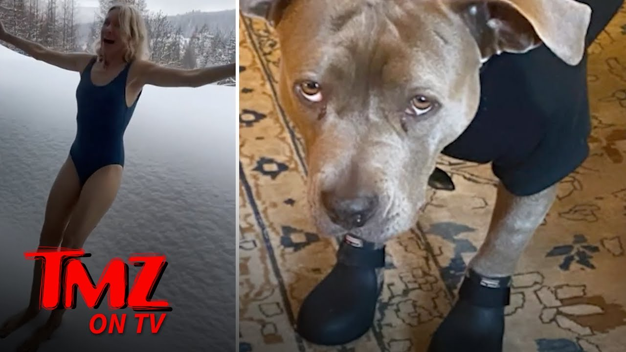 Celebs Enjoy East Coast Snow Storm | TMZ TV