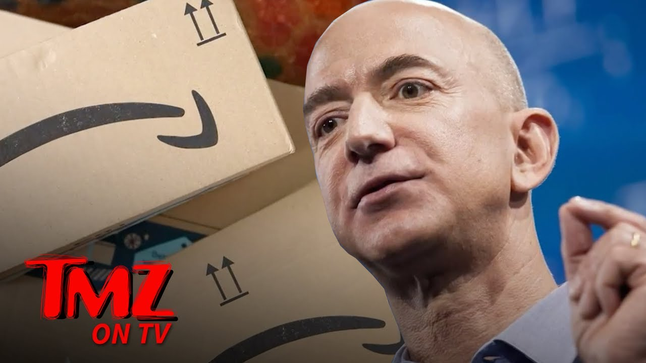 Jeff Bezos Passing Amazon CEO Torch to New Exec, Still Chief on Board | TMZ TV