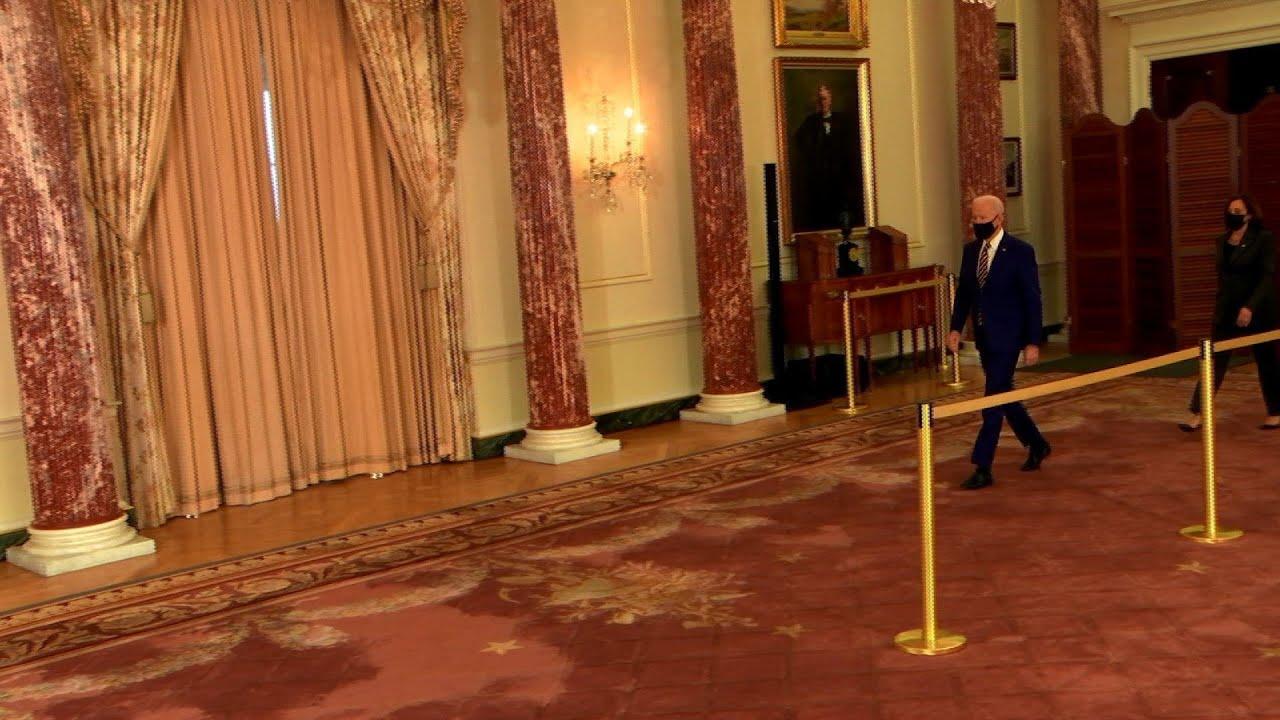 Biden speech signals to world that America's back