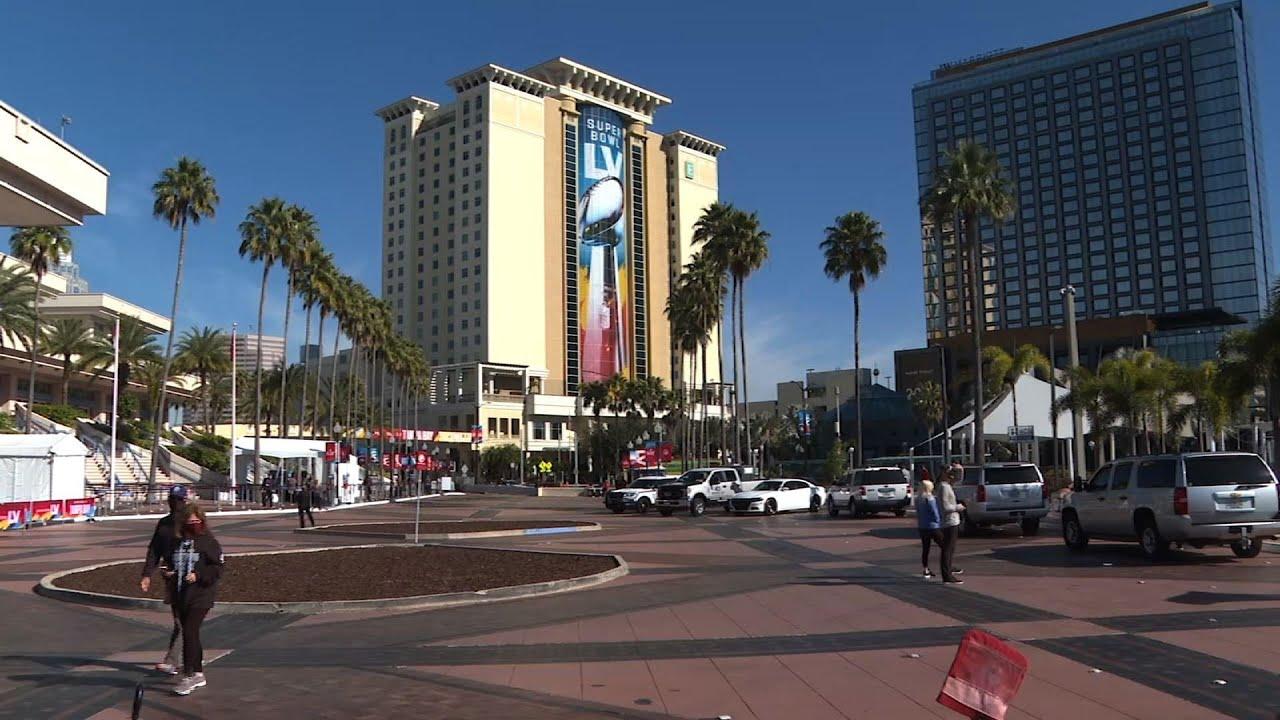 Tampa makes best of Super Bowl week amid virus