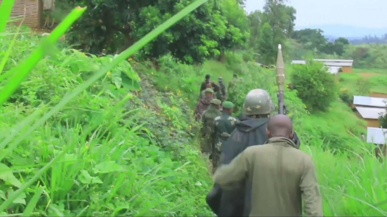 DRC troops patrol as violence compounds IDP crisis