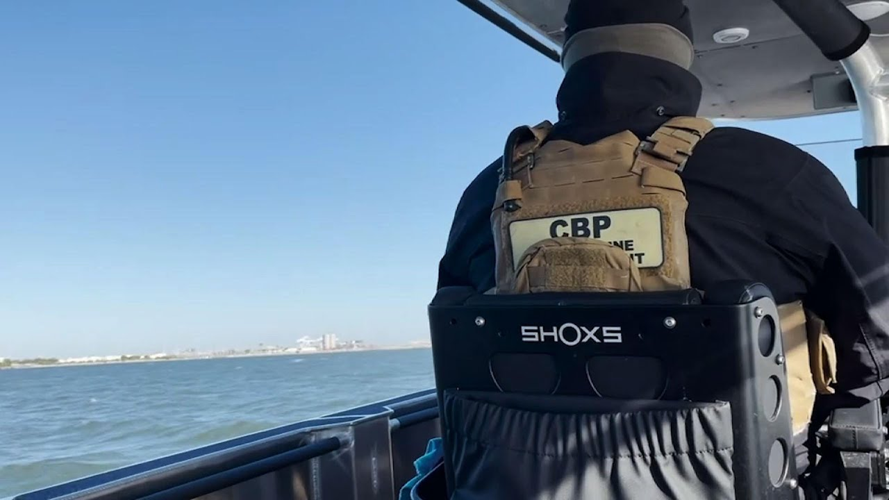 Border Protection cruises waters near Super Bowl