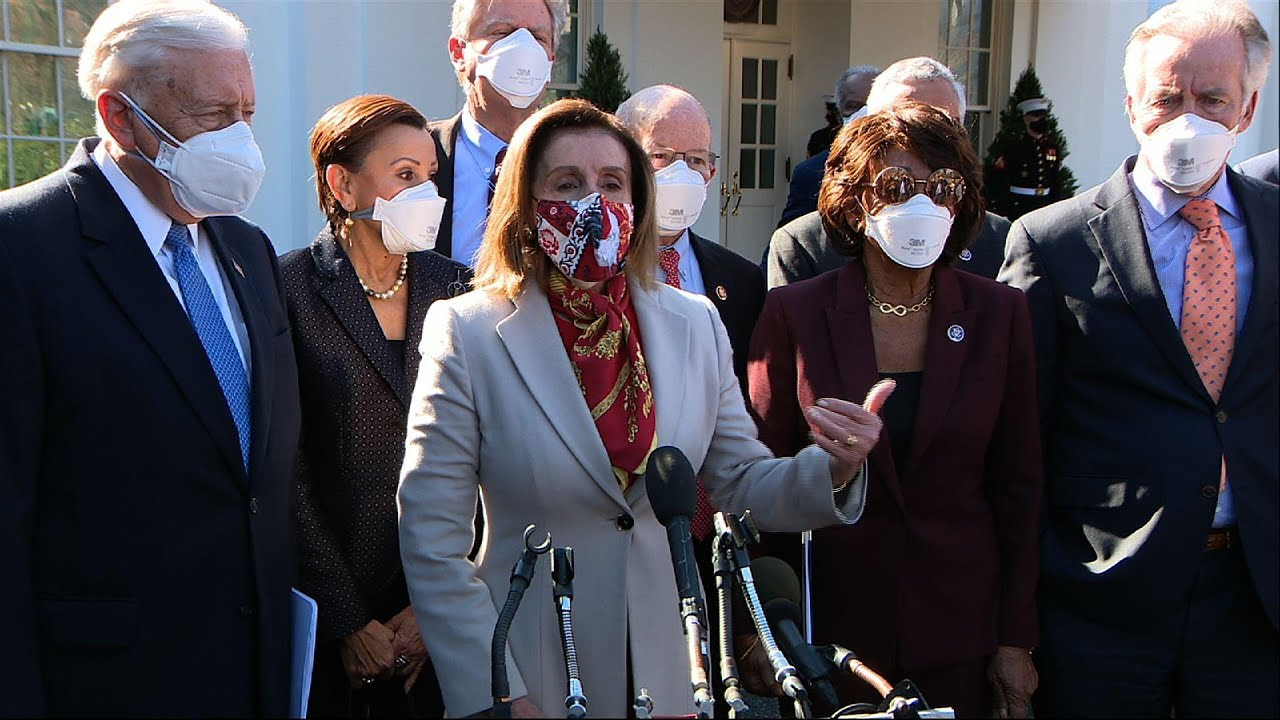 Pelosi: House laser focused on relief package