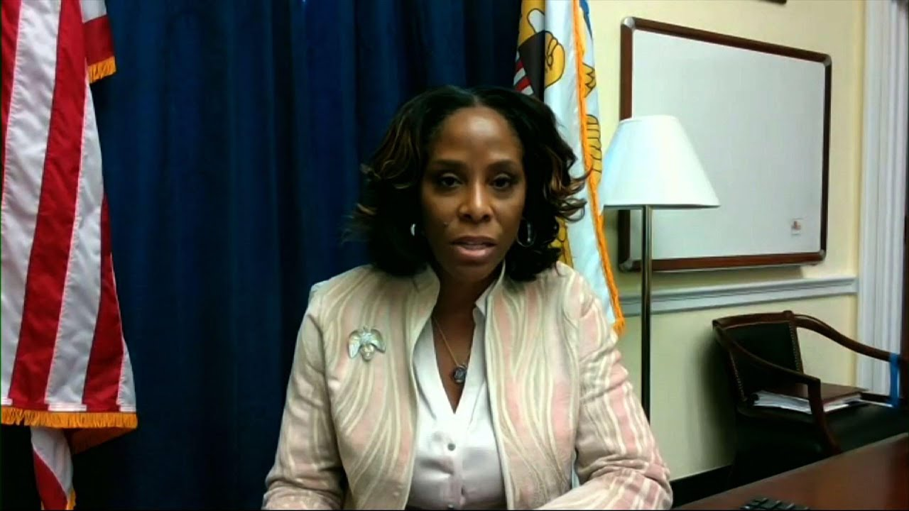 As impeachment manager, delegate gets her say