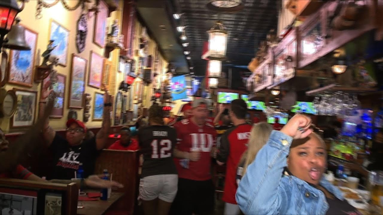 Many maskless at Tampa Super Bowl celebrations