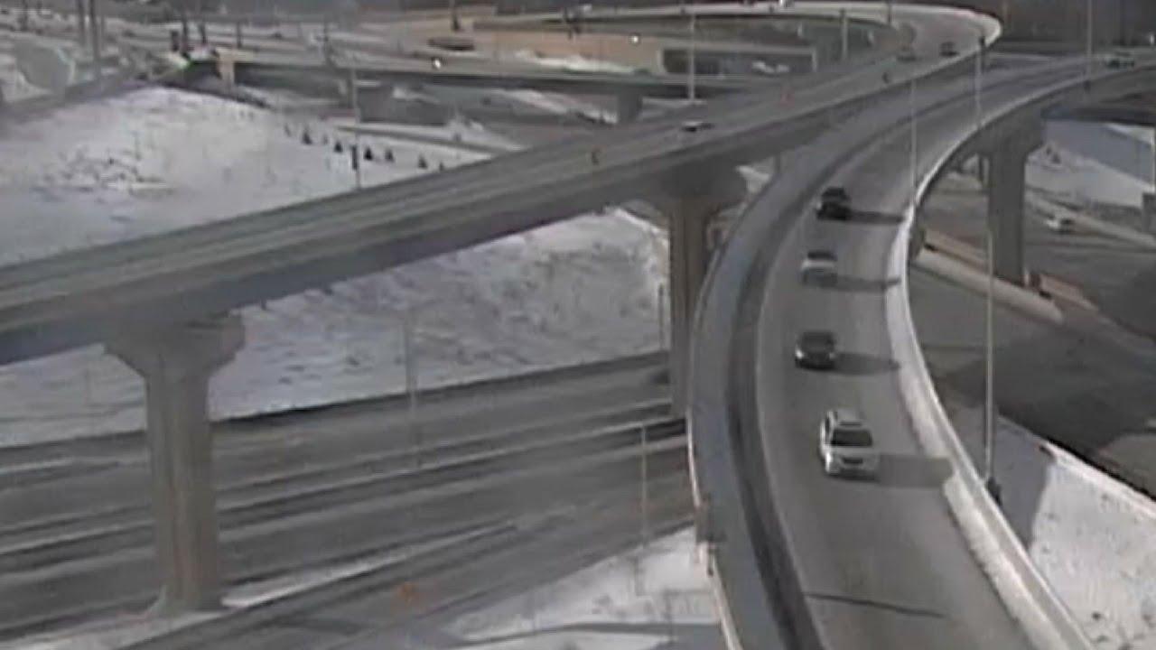 Truck plunges 70 feet off Wisconsin highway
