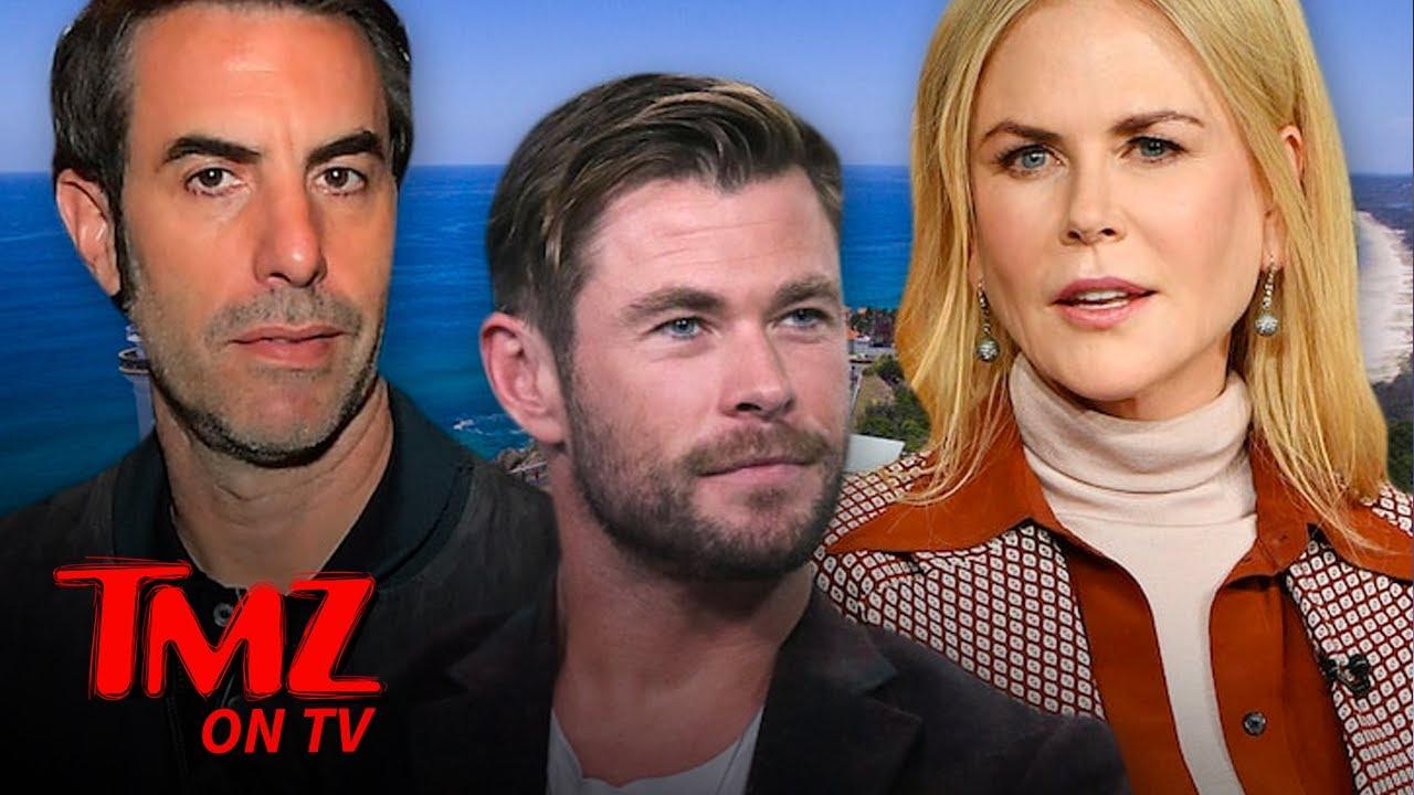 'Chris Hemsworth Effect' Irritates Residents Of Australia's Byron Bay | TMZ TV