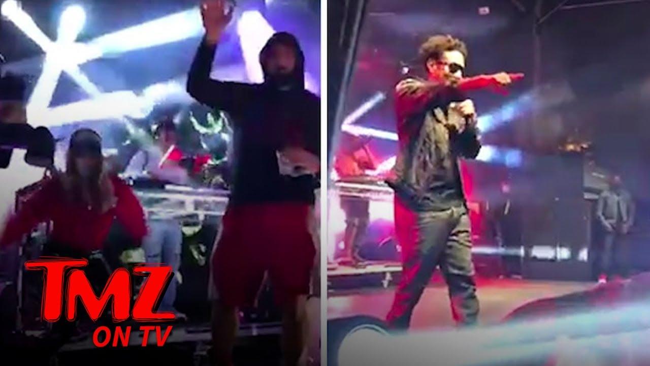 Rob Gronkowski & GF Camille Kostek Dance with At SB Victory Bash!   TMZ TV